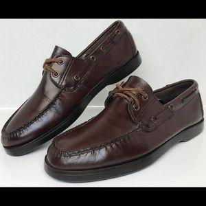 Polo Ralph Lauren Sport 2 Eye Boat Shoes Size 10 D